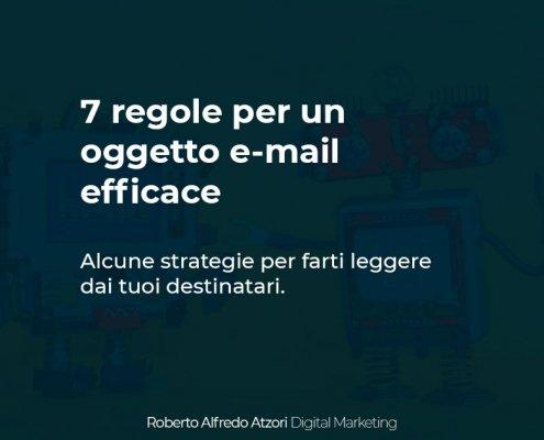 oggetto e-mail