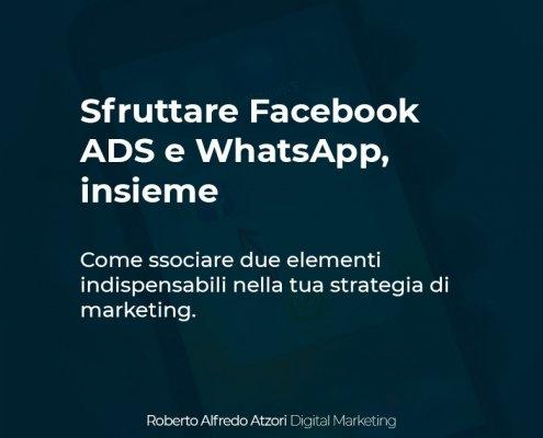 Facebook ADS e WhatsApp