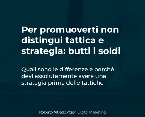 tattica e strategia
